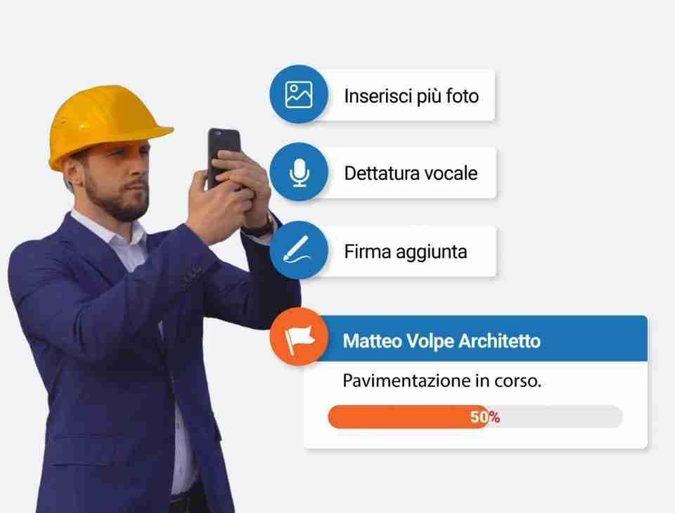 verbale di sopralluogo myAEDES digitalizza il tuo cantiere con il migliore gestionale per l'edilizia