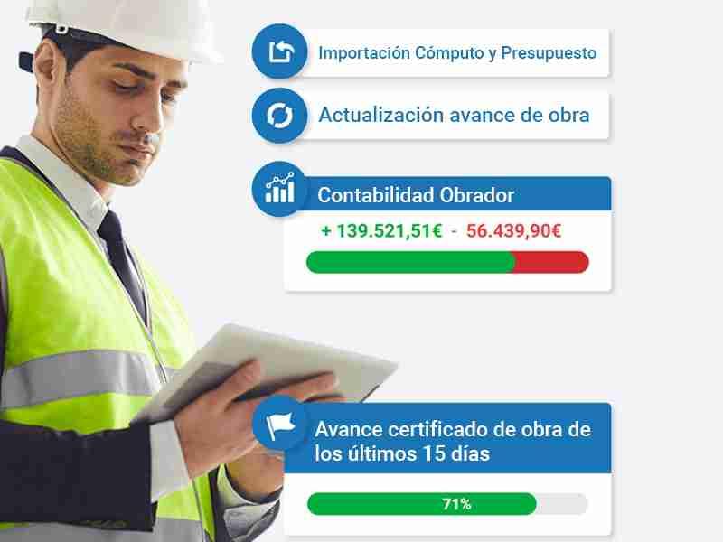 software de construcción Informe de inspección