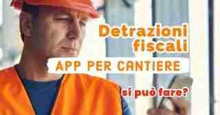 detrazione app cantiere software edilizia