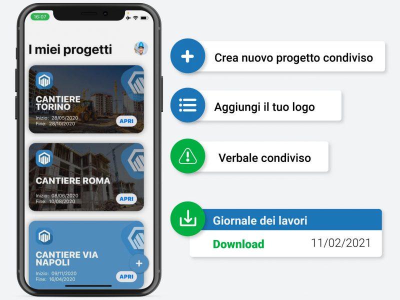 GIORNALE DEI LAVORI Software per il Direttore dei Lavori myAEDES digitalizza il tuo cantiere con il migliore gestionale per l'edilizia